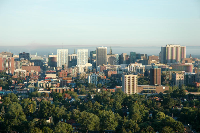 Vue d'Arial de la ville 2 image libre de droits