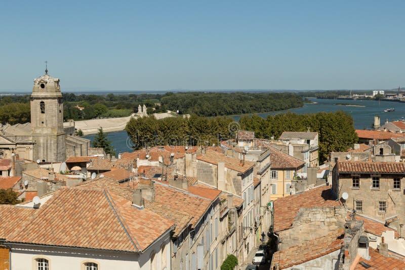 Vue d'Arles, France images stock