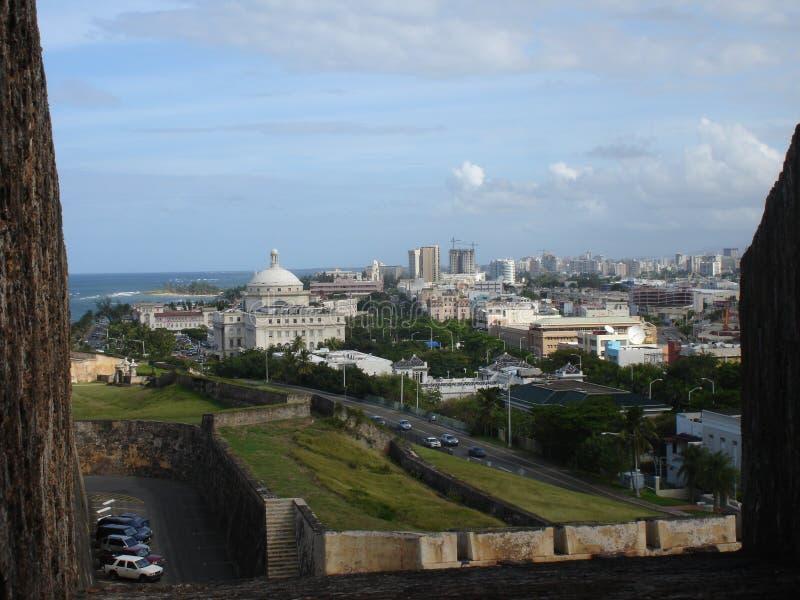 Download Vue D'EL Morro, Porto Rico, Des Caraïbes Image stock - Image du colonial, océan: 734371