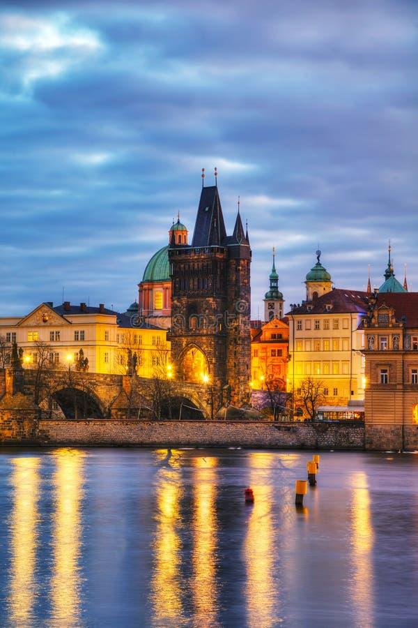 Vue d'ensemble de Prague photographie stock libre de droits