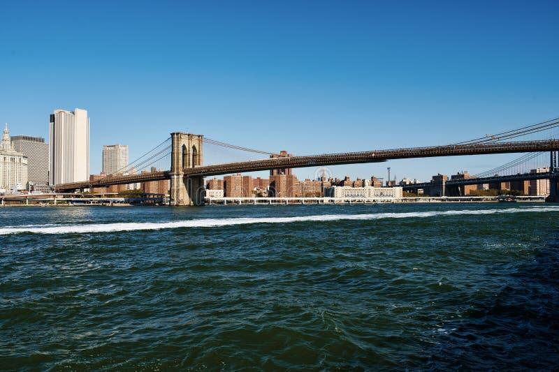 Download Vue D'horizon De Lower Manhattan De Brooklyn Image stock - Image du inférieur, manhattan: 76083967