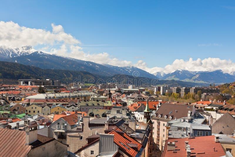 Vue d'Innsbruck, Autriche image stock