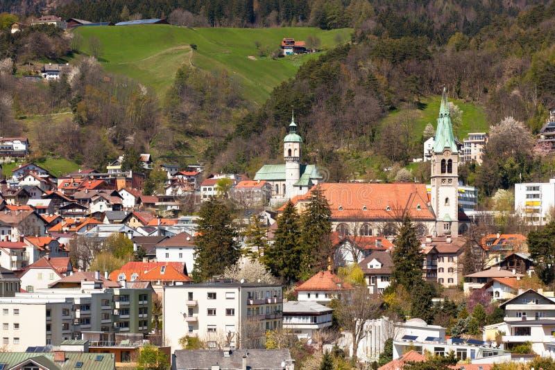 Vue d'Innsbruck, Autriche photographie stock