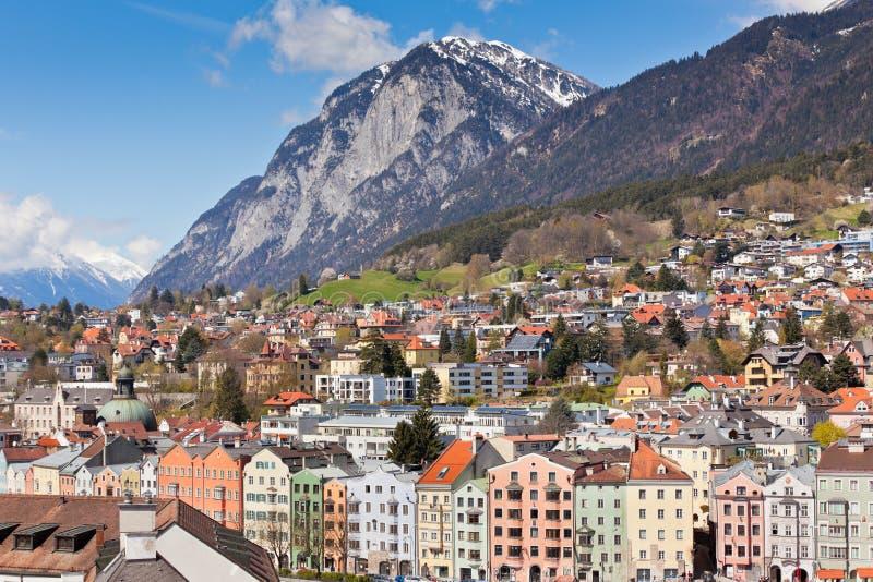 Vue d'Innsbruck, Autriche photos stock