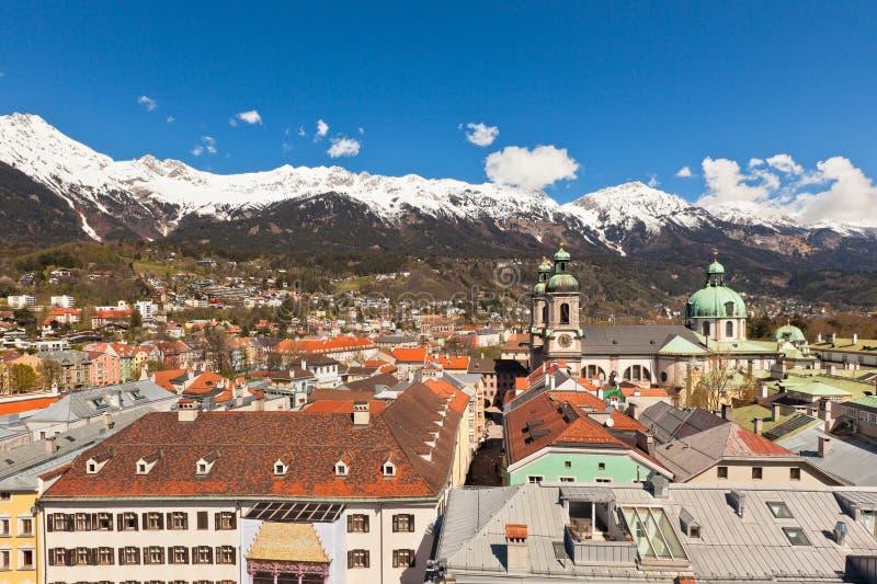 Vue d'Innsbruck, Autriche images stock