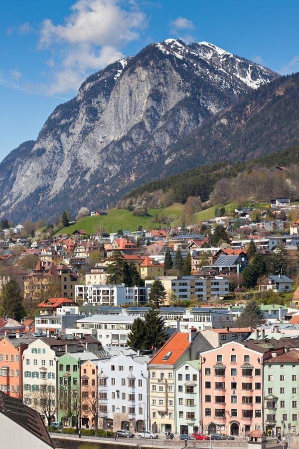 Vue d'Innsbruck, Autriche photographie stock libre de droits