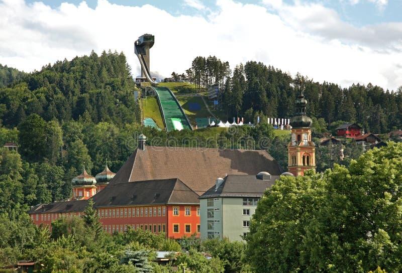 Vue d'Innsbruck Le Tyrol l'autriche image stock