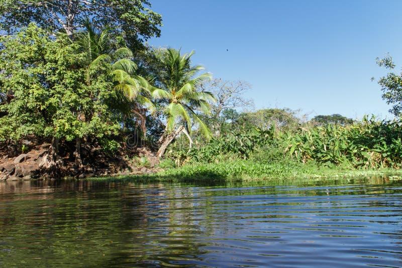 Vue d'Isletas de lac nicaragua photographie stock libre de droits