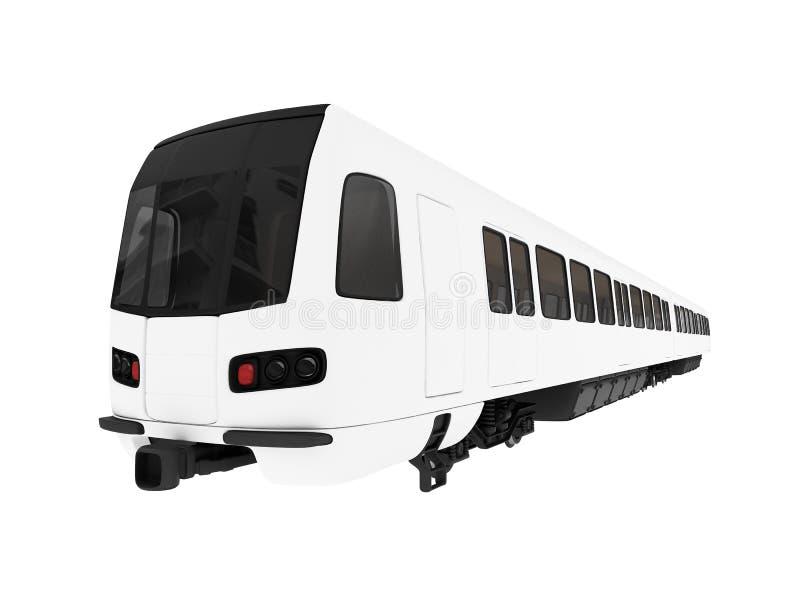 Vue d'isolement par métro illustration de vecteur