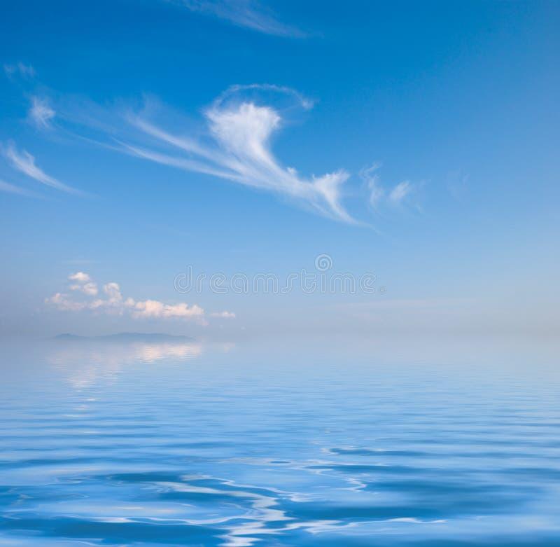 Vue d'océan image stock