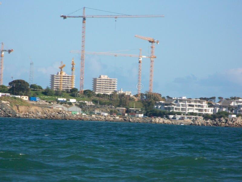 Vue d'océan de Cape Town image libre de droits