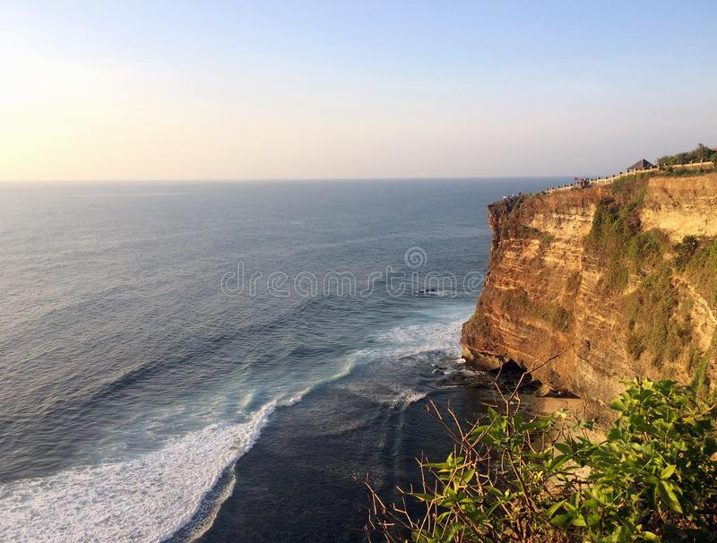 Vue d'océan de la roche photographie stock libre de droits