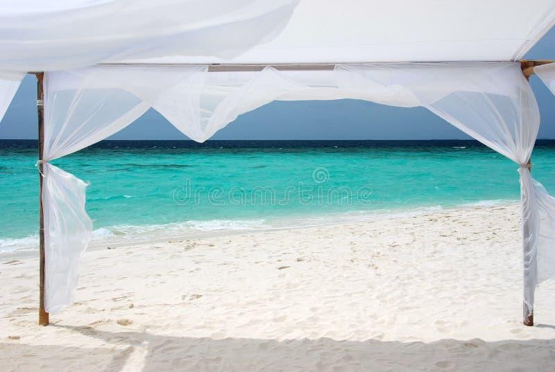Vue d'océan, Maldives images libres de droits