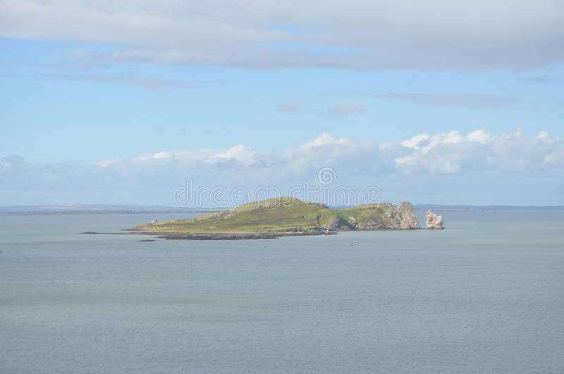 Vue d'oeil du ` s de l'Irlande d'île de Ben de Howth, Irlande photos libres de droits