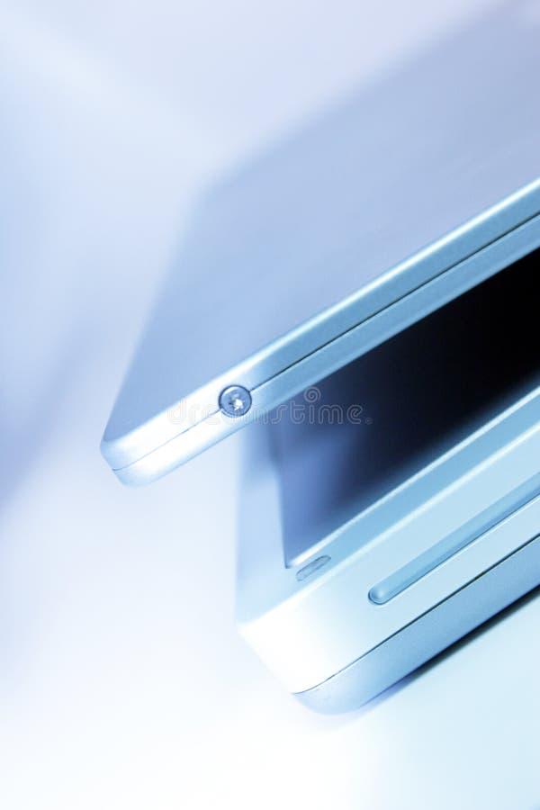 Vue d'ordinateur portatif photographie stock libre de droits