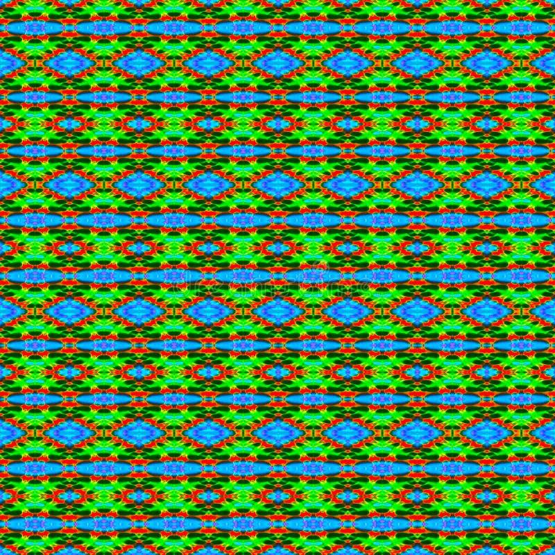 Vue 1 d'Outta - fond de colorant de lien dans des couleurs multiples photographie stock libre de droits