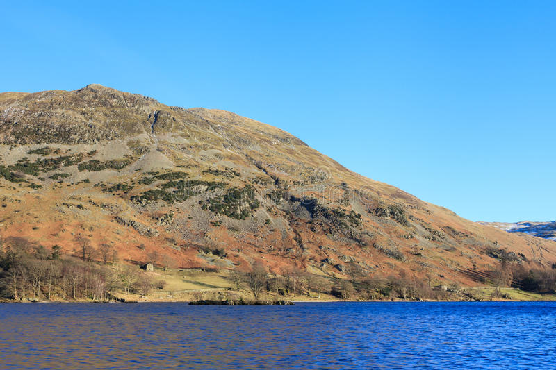 Vue d'Ullswater photo stock