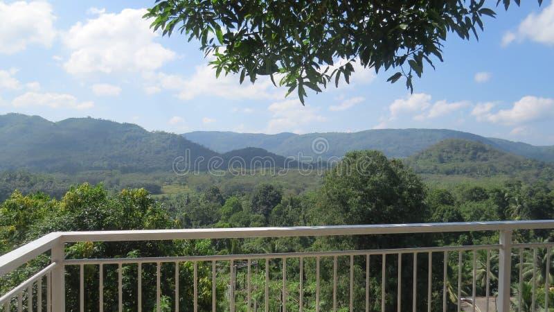 Vue de balcon de la nature 2 image stock