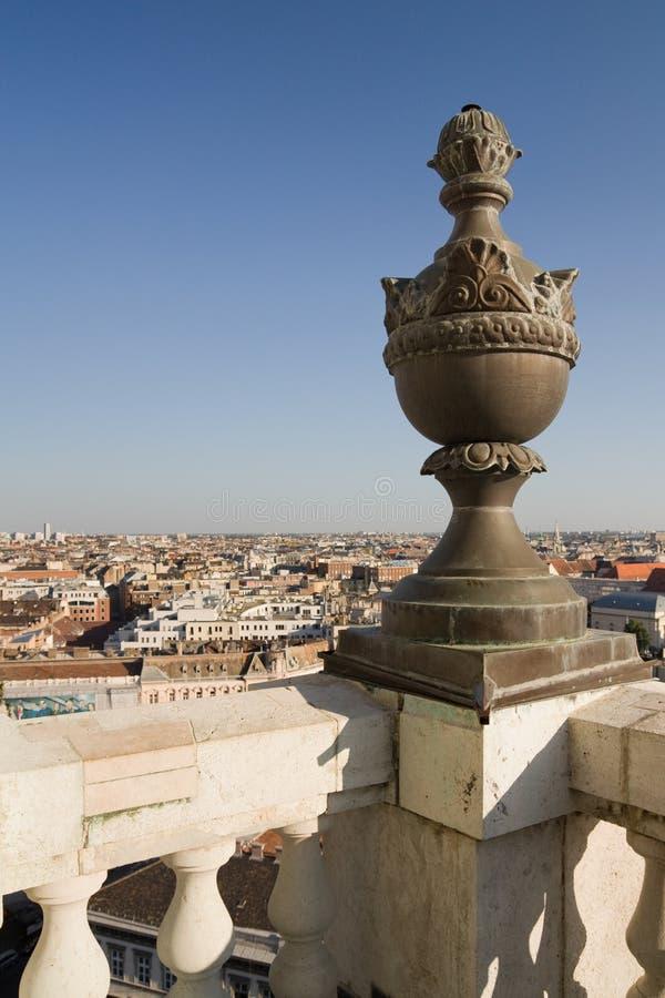 Vue de basilique à Budapest images libres de droits