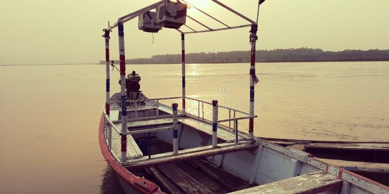 Vue de bateau image stock