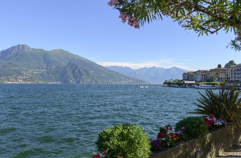 Vue de Bellagio photo stock