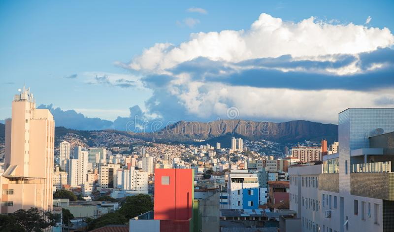 Vue de Belo Horizonte, Minas Gerais, Brésil images stock