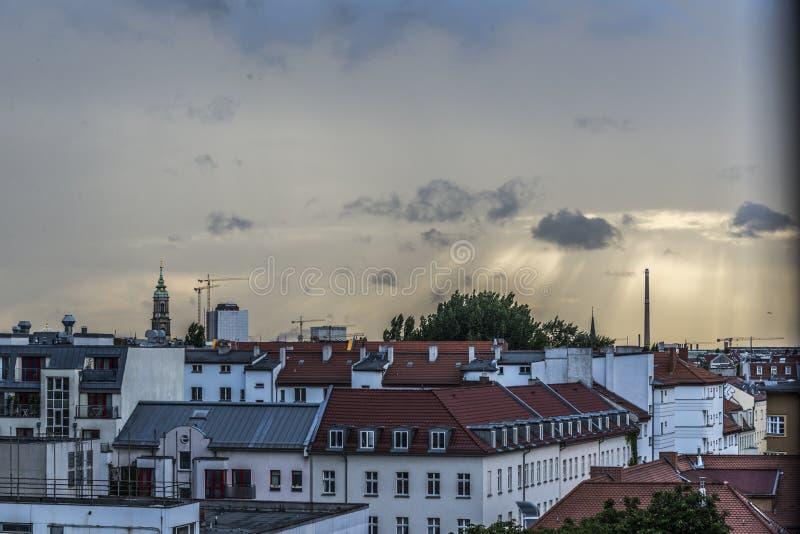 Vue de BerlÃn photo stock