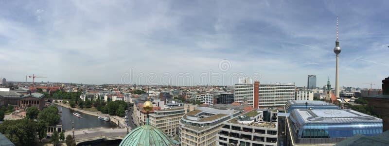 Vue de Berlin photographie stock libre de droits