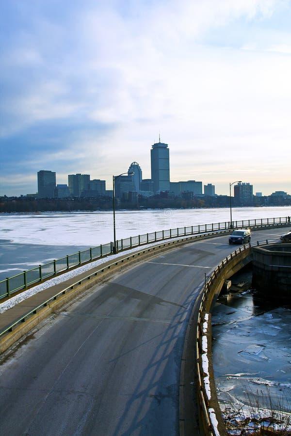 Vue de Boston photo stock