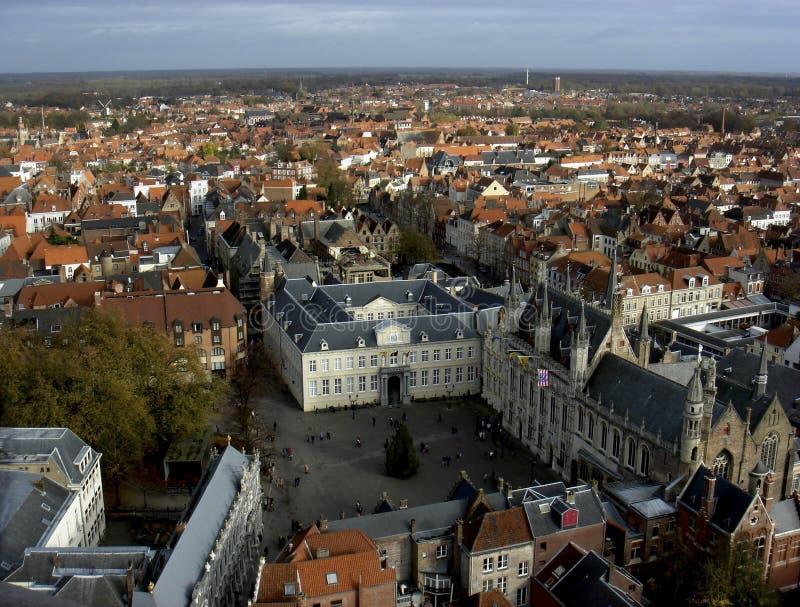 Vue de Bruges, Belgique photographie stock libre de droits