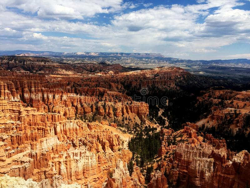 Vue de Bryce Canyon National Park Scenic photographie stock