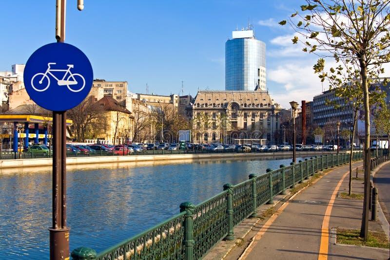 Vue de Bucarest image libre de droits