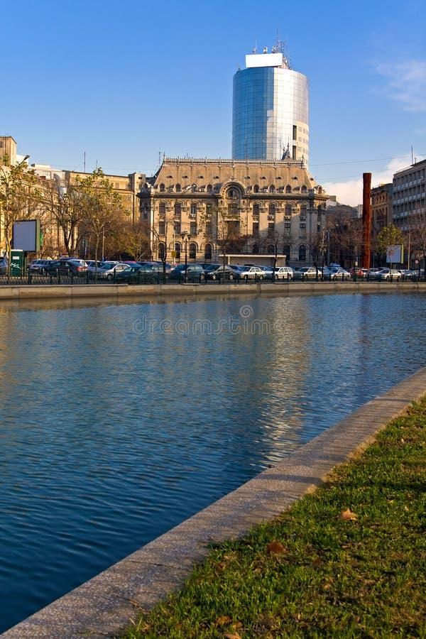 Vue de Bucarest photographie stock