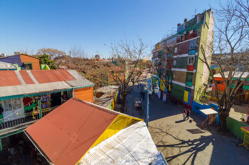 Vue de Buenos Aires photos libres de droits