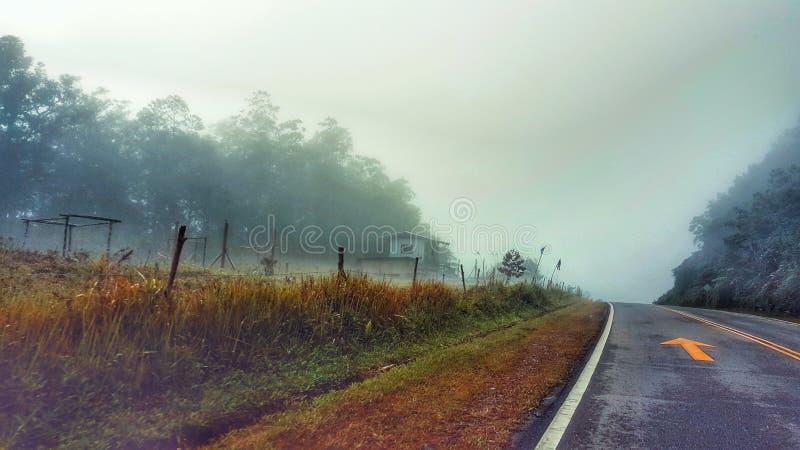 Vue de Bukit Keningau, Malaisie image libre de droits