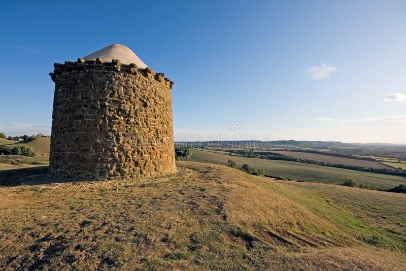 Vue de Burton Dassett dans le Warwickshire images stock