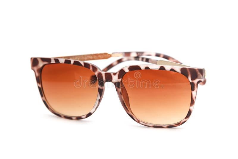 Vue de côté de lunettes de soleil de mode images stock