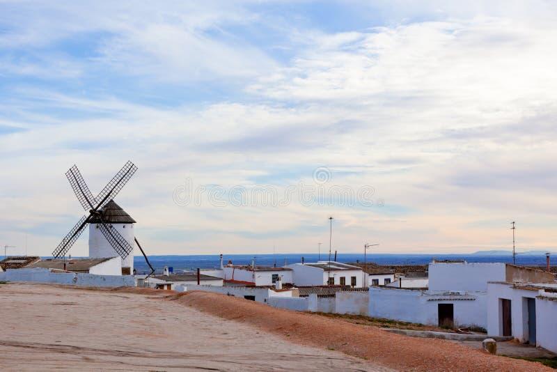 Vue de Campo de Criptana photo libre de droits
