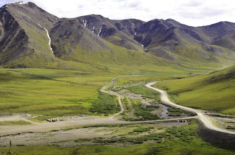 Vue de canalisation de montagne photographie stock