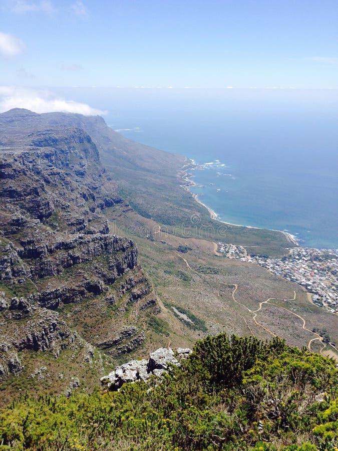 Vue de Cape Town Afrique du Sud image libre de droits