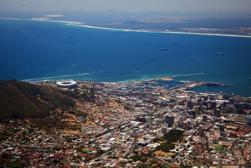 Vue de Capetown photos stock