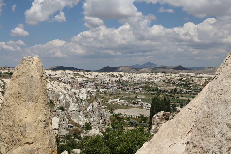 Vue de Cappadocia en Turquie photos libres de droits