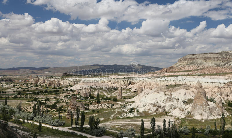 Vue de Cappadocia en Turquie image stock