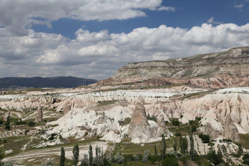 Vue de Cappadocia en Turquie photographie stock