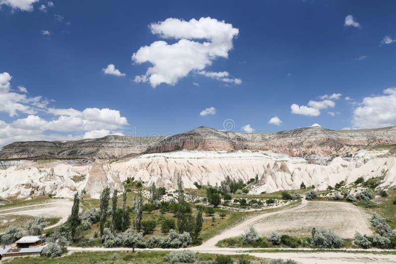 Vue de Cappadocia en Turquie image libre de droits