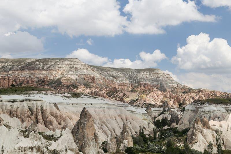 Vue de Cappadocia en Turquie photographie stock libre de droits