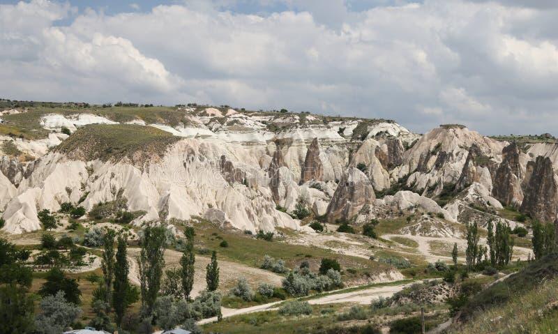 Vue de Cappadocia en Turquie photos stock