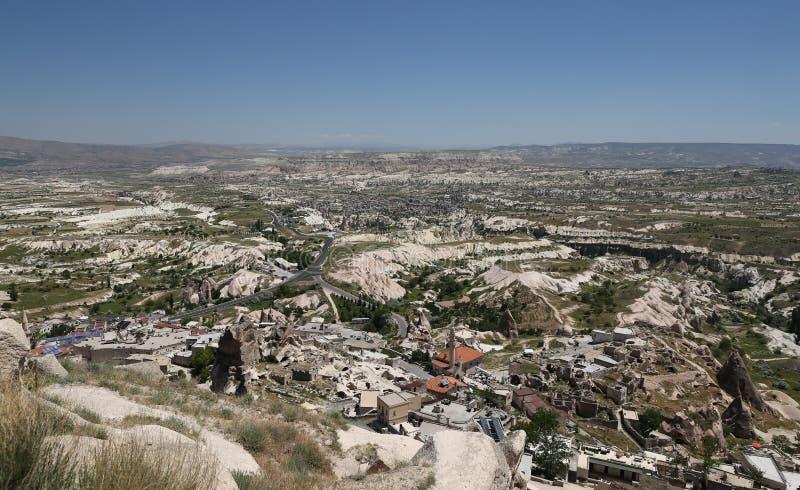 Vue de Cappadocia en Turquie photo stock