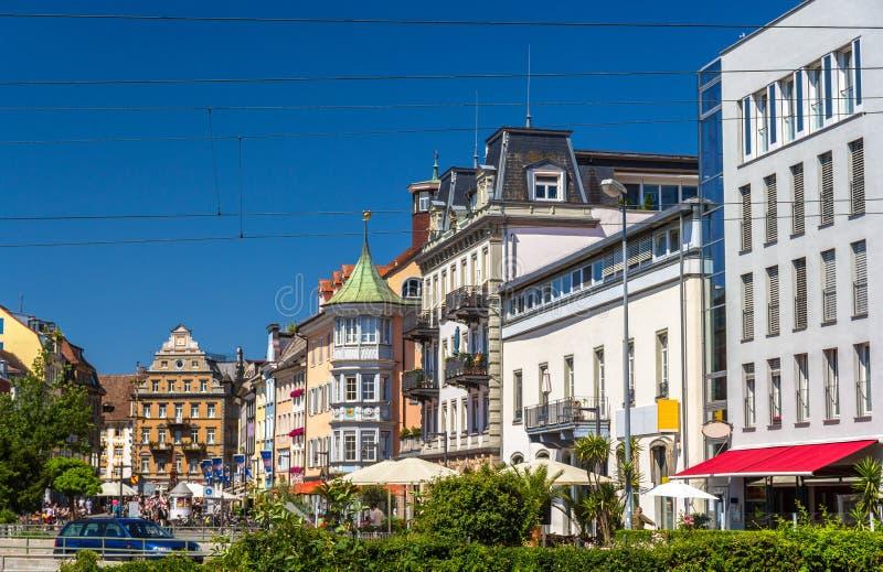 Vue de centre de la ville de Constance, Allemagne image stock