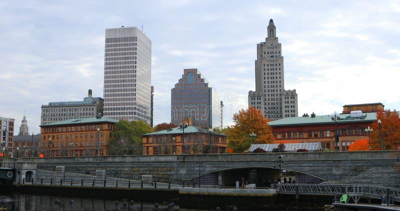 Vue de centre de la ville de Providence, Rhode Island photo libre de droits